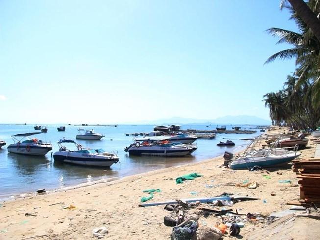 Bãi biển Đặc khu kinh tế Bắc Vân Phong