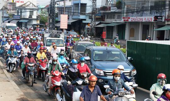 Lượng giao thông tại thành phố Nha Trang đã tăng lên đáng kể chỉ trong vài năm gần đây