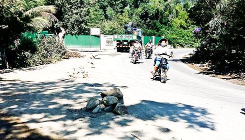 Tỉnh lộ 3 Nha Trang đã hư hại nhiều đoạn