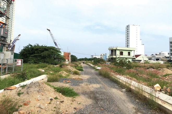 Một góc Dự án Khu dân cư cồn Tân Lập